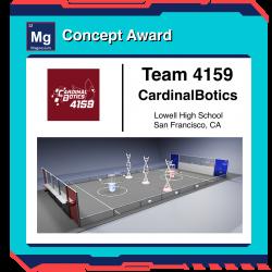 Game Design Concept Award