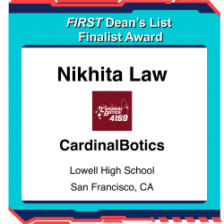 Dean's List Finalist